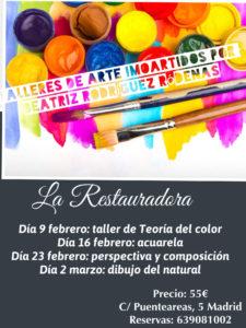Cursos de Arte en Febrero-La Restauradora