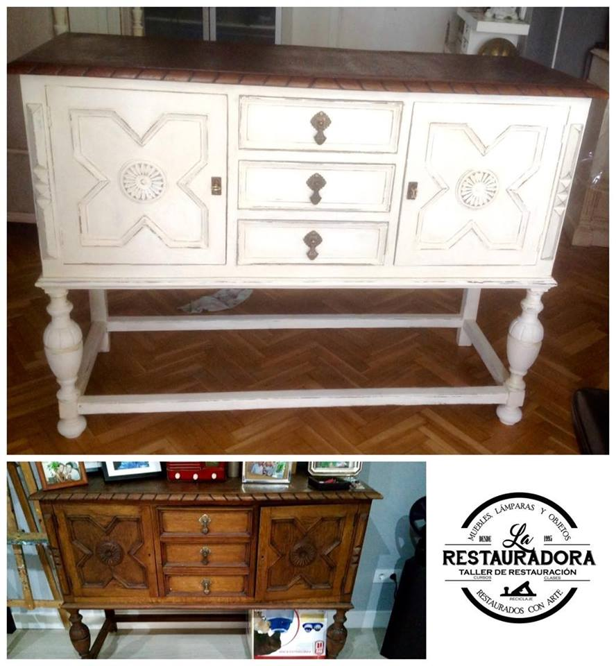 Restaurar muebles antes y despues stunning ideas para for Restaurar y pintar muebles