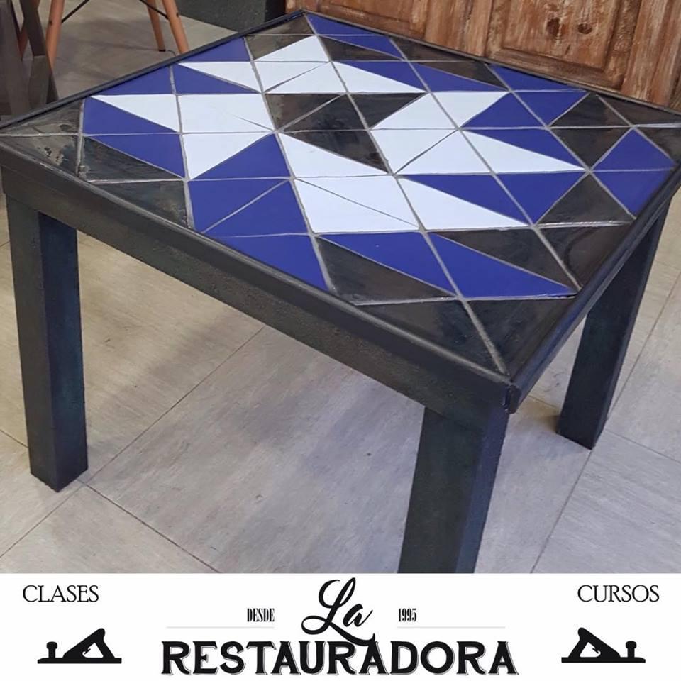 mesa mosaico La Restauradora