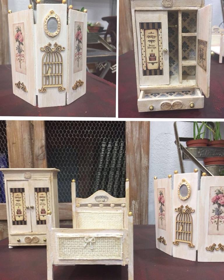 Muebles casa de mu ecas la restauradora for Muebles casa de munecas